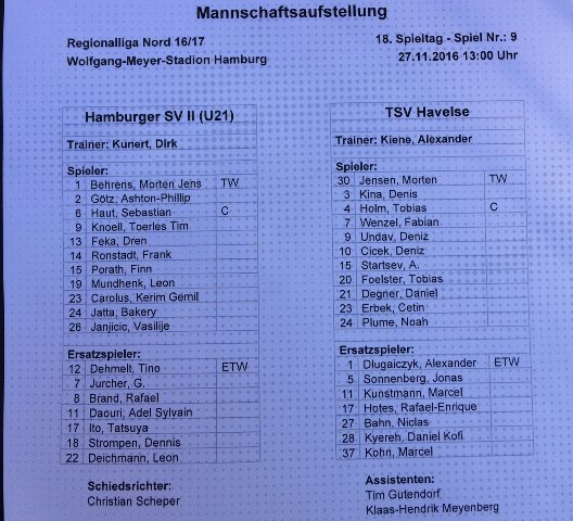 Foto: Twitter/HSV Young Talents